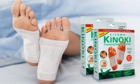 3.580 Ft helyett 1.490 Ft: 2 csomag japán kinoki tapasz - csökkentheti az ízületi és izomfájdalmakat