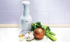 3.290 Ft helyett 1.990 Ft: Hagyma aprítás könnyek nélkül - Twist kézi hagyma- és zöldségaprító, a Metaltex-től