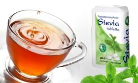 1.246 Ft helyett 890 Ft: 1 doboz, 200 db-os Stevia természetes, kalóriamentes édesítő tabletta a Dr. Chen Patikától