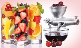 8.990 Ft helyett 5.990 Ft: Készíts nyári vitaminbombát! 2in1 gyümölcs- és búzacsíra daráló