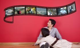 9.990 Ft helyett 4.490 Ft: Egyedi filmtekercs falmatrica 7 különböző fényképpel az EVIGER-től