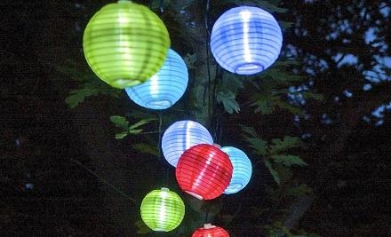 3.890 Ft helyett 2.690 Ft: LED-es kerti lampionfüzér választható típusban
