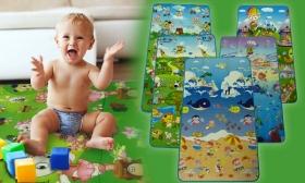 3.990 Ft helyett 2.490 Ft: Kiteríthető, mintás szőnyeg gyerekeknek választható mintával