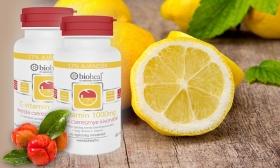 3.090 Ft helyett 1.990 Ft: 2 doboz 1000 mg-os Bioheal C-vitamin 25 mg acerola cseresznye kivonattal