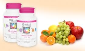 3.690 Ft helyett 2.490 Ft: 2 doboz 1350 mg-os Bioheal Multivitamin - 11 vitamin és ásványi anyag hozzáadásával