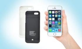 9.900 Ft helyett 3.990 Ft: iPhone 5 és 5S-hez való tok formájú külső akkumulátor