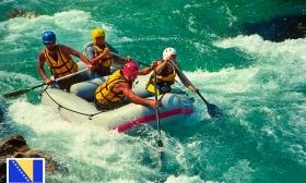 2 vagy 4 napos raftingolás és túrahétvége Bosznia-Hercegovinában felszereléssel, szállással és teljes ellátással 1 fő részére a Neretva Rafting jóvoltából 50% kedvezménnyel