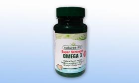 4.990 Ft helyett 2.590 Ft: Omega-3 halolajat tartalmazó lágyzselatin kapszula 1200 mg a Natures Aid-től