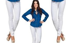3.490 Ft helyett 1.690 Ft: Női félcsípő fazonú vászon nadrág három színben