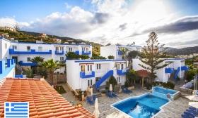 Krétai nyaralás akár főszezonban is! 5 vagy 8 nap 2 főnek reggelis ellátással, medence használattal a Belvedere Hotelben 34-35% kedvezménnyel