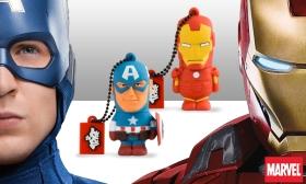 5.990 Ft helyett 4.790 Ft: Eredeti Marvel 8 GB-os pendrive élethű 3D szilikon figurák formájában, 4 választható típusban