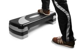 14.900 Ft helyett 11.990 Ft: Klarfit aerobic stepper 250 kg teherbírással, ingyenes kiszállítással