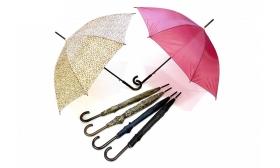 2.990 Ft helyett 1.590 Ft: Automata esernyő egyszínű és mintás változatban