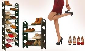 9.990 Ft helyett 5.990 Ft: Többrészes cipőállvány 30 pár cipő elhelyezéséhez