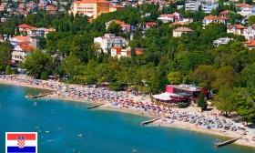 Tiszta erőből nyár a horvát riviérán! 8 nap 2 főre svédasztalos reggelivel és 3 alkalommal svédasztalos vacsorával, kerékpár-bérléssel és Aquarium belépővel Crikvenicán, a Vila Ružica Hotelben 25% kedvezménnyel