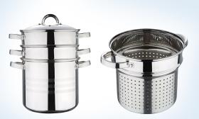 11.990 Ft helyett 6.990 Ft: 4 részes tészta- és levesfőző fazék