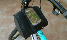 5.700 Ft helyett 1.990 Ft: Vázra szerelhető kétoldalas kerékpár táska