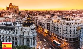4 napos látogatás két főnek a spanyol fővárosba, Madridba repülővel, repülőtéri illetékkel, foglalási díjjal, 3 csillagos szállodában 29-38% kedvezménnyel