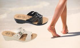 Könnyű női komfort papucsok többféle kivitelben 50%-os kedvezménnyel