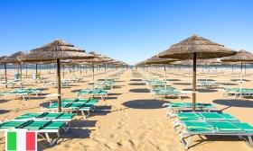Nyaralás az olasz riviérán - 4, 6 vagy 8 nap két főnek reggelivel Riminiben, a tengerparti, négycsillagos Hotel Sovrana superior szobáiban 17-36% kedvezménnyel