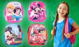 2.500 Ft helyett 1.490 Ft: Gyermek hátizsák választható mintával