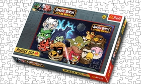 1.199 Ft helyett 799 Ft: 160 darabos Angry Birds Star Wars puzzle