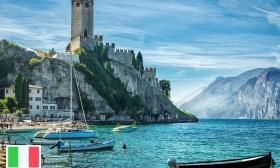 All inclusive nyaralás a Garda-tónál! 4 vagy 6 nap két főnek teljes ellátással és italfogyasztással a Hotel Villa Delle Rose családi szobáiban 35-38% kevezménnyel