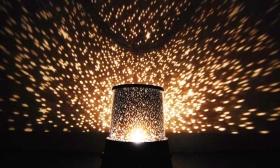 3.000 Ft helyett 1.490 Ft: Éjszakai csillagfény lámpa