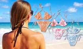2.490 Ft helyett 890 Ft: Virág mintás női bikini több színben