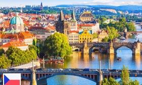 Négycsillagos nyaralás Prágában! 3 vagy 4 nap két fő részére reggelivel executive szobában, a design Hotel Angeloban 34-35% kedvezménnyel