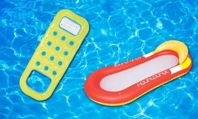 Felfújható gumimatracok 2 féle típusban, választható színben 35-42% kedvezménnyel
