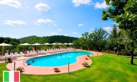 Toszkánai nyaralás! 2, 4 vagy 7 éjszaka 2 felnőtt részére a Villaggio Le Querce luxus apartmanjaiban reggelis ellátással, borkóstolással, és egyéb extrákkal, 39-40% kedvezménnyel