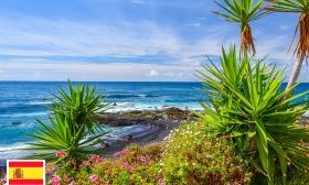336.000 Ft helyett 191.900 Ft: All inclusive nyaralás a Kanári szigeteken 2 fő részére - 8 nap, 7 éj wellness használattal Tenerifén, a négycsillagos Puerto de la Cruz szállodában, akár jövő tavaszig