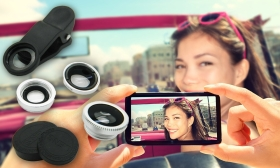 5.990 Ft helyett 2.490 Ft: Univerzális kamera lencse szett mobiltelefonokhoz