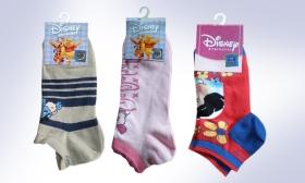 990 Ft helyett 590 Ft: 2 pár Női Disney mintás titok zokni 3 választható színben