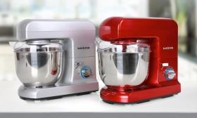 47.910 Ft helyett 31.990 Ft: Klarstein Gracia Rossa vagy Gracia Argentea konyhai robotgép ingyenes házhoszállítással