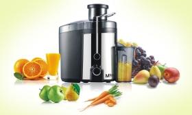 39.990 Ft helyett 12.990 Ft: Gyümölcscentrifuga gyümölcs- és zöldséglevek készítéséhez ingyenes házhozszállítással