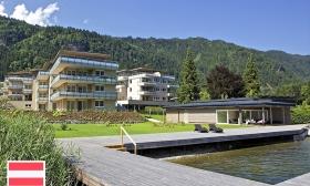 Négycsillagos luxus az Ossiachi tó partján, Karintiában! 3, 4 vagy 6 nap 2 főre az Aparthotel Legendärban reggelivel, spa használattal, privát strand használattal 50% kedvezménnyel