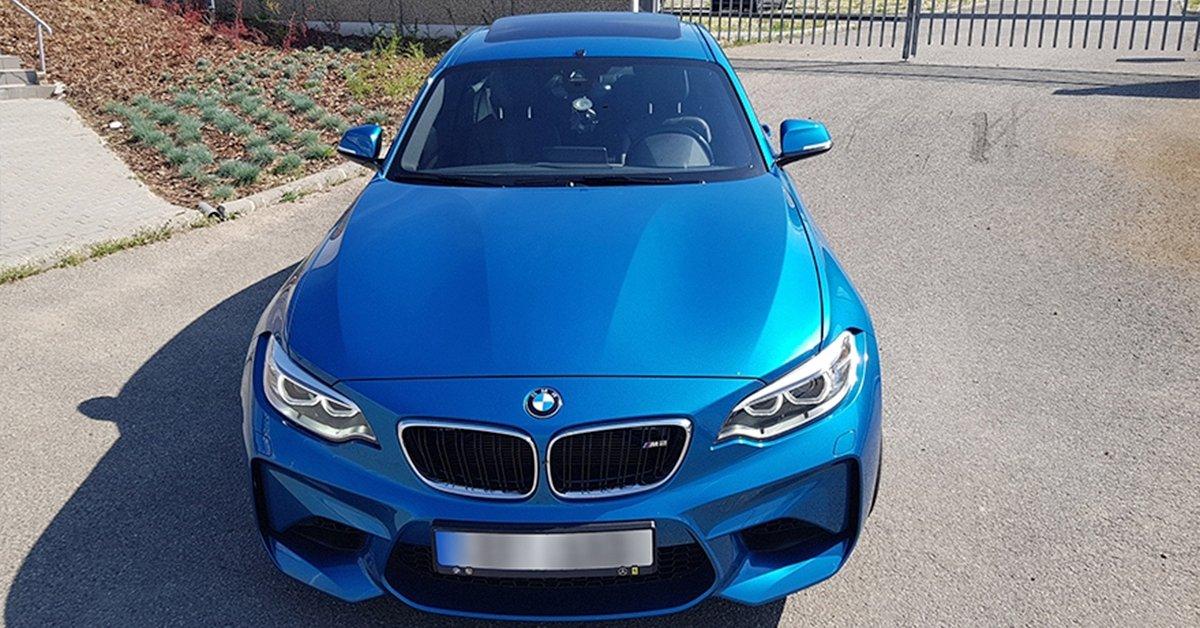 BMW M2 száguldás