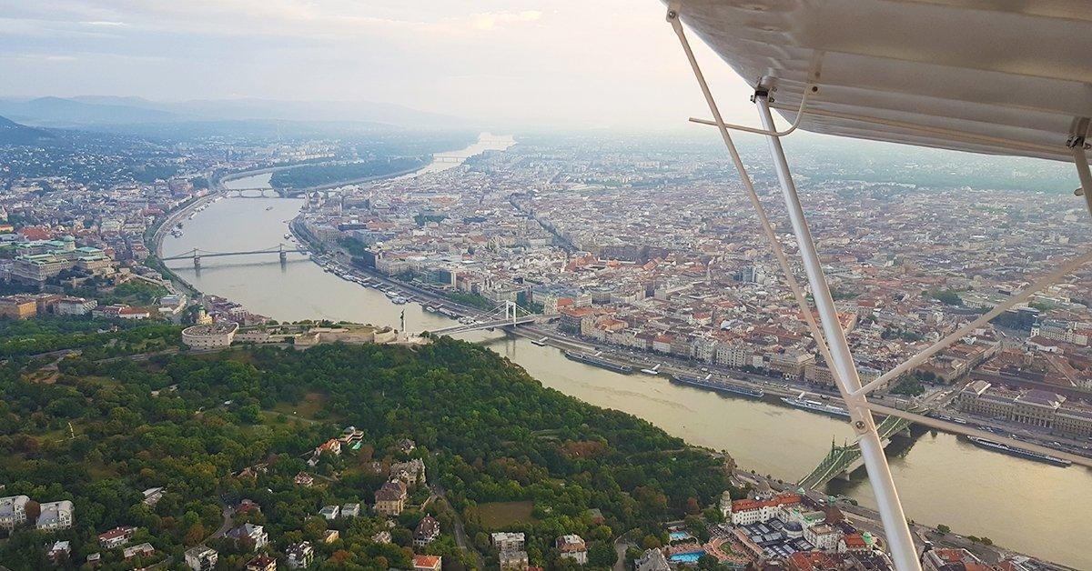 Élményrepülés Budapest felett
