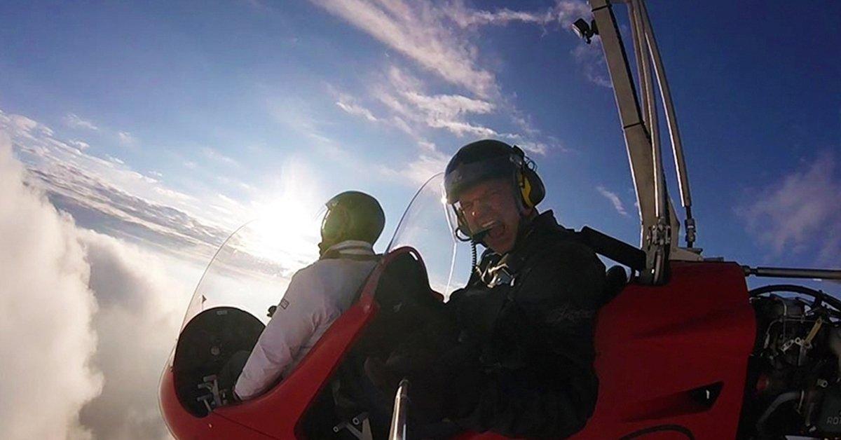 Minihelikopter repülés