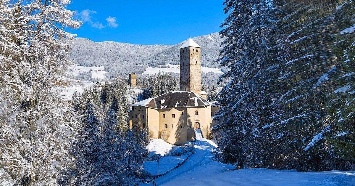 Téli pihenés a Dolomitokban