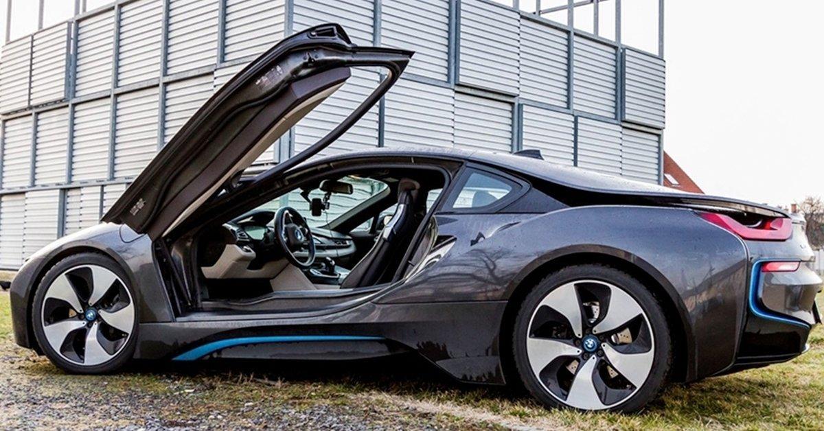 BMW i8 élményvezetés