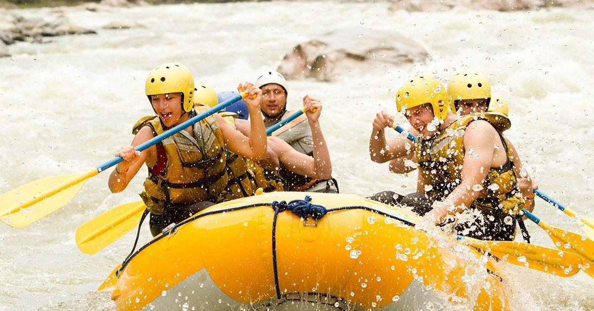 Rafting a Magas-Tátrában