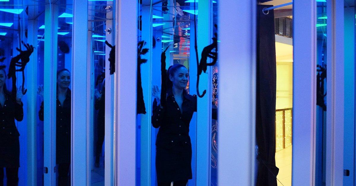 Tükörlabirintus belépő