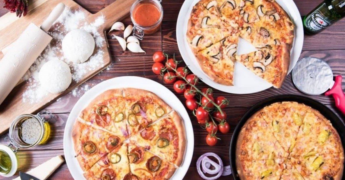2 db szabadon választható 28 cm-es pizza