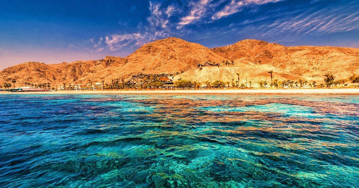 Pihenés a Vörös-tenger partján
