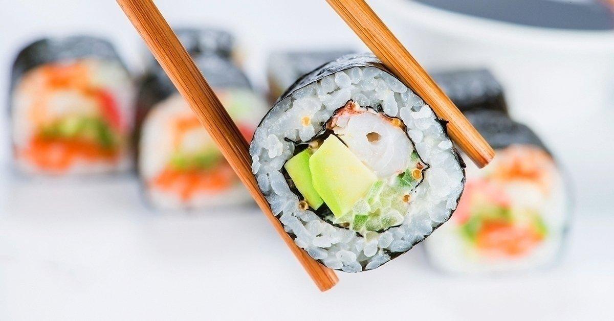 5-féle sushi kombináció