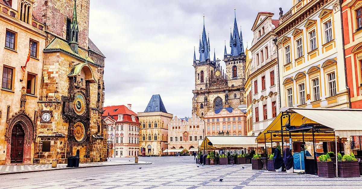 3 nap Prága belvárosában