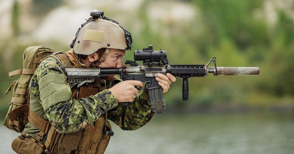 Sportlövészet több fegyverrel
